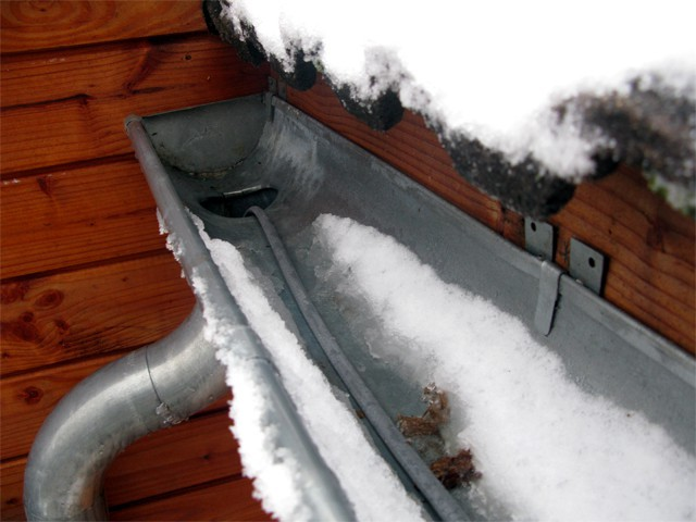 Heating Element For Gutter Drainpipe Stop Snow And Ice
