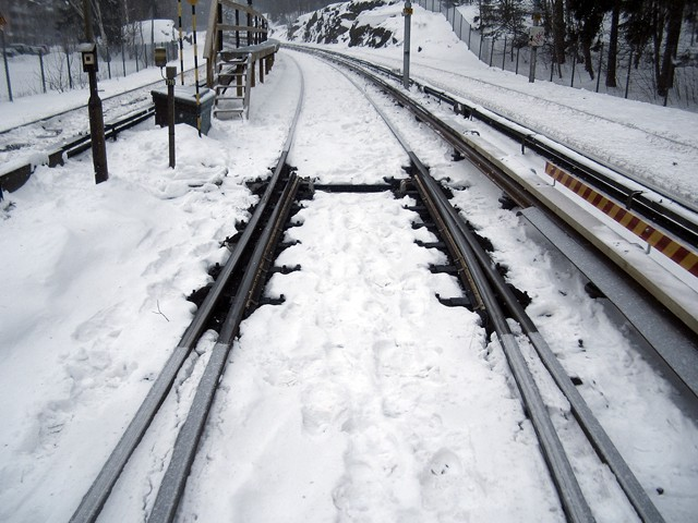 Prevent Snow And Ice On Railway Switches With Heating