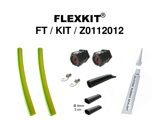 Connection kit Z0112012, for heating cables FLEXTRACE ZFE CGE, ZFA CGA.