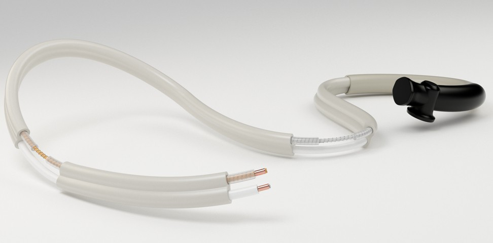 Silicon insulated drain-line heater cables with integrated thermostat - CSC2K